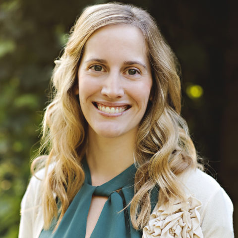 Headshot of Rachel Kirkby.
