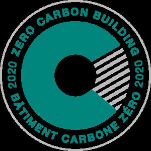 Zero Carbon Building 2020 logo.